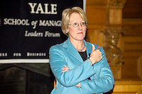 Anne M. Mulcahy, former Chairperson & CEO of Xerox Corporation, at Yale School of Management