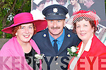 STYLE: Maddy Foley, Donal Pigott and Kathleen Cronin at the Puck Fair parade in Killorglin on Friday..