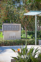 Bowers Museum Entrance in Santa Ana