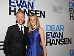 Justin Paul and Asher Fogle Paul attends the Broadway Opening Night Performance of 'Dear Evan Hansen'  at The Music Box Theatre on December 1, 2016 in New York City.