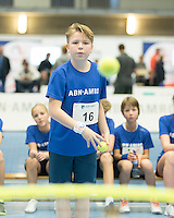 Rotterdam, Netherlands, December 17, 2016, Topsportcentrum, Ballkids selection day for ABNAMROWTT 2017,  <br /> Photo: Tennisimages/Henk Koster