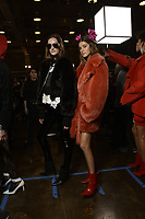 Zadig &amp; Voltaire 12/02/2018<br /> Model : Josephine Le Tutour<br /> Backstage, New York Fashion Week FW18 <br /> <br /> New York Fashion Week,  New York, USA in February 2018.<br /> CAP/GOL<br /> &copy;GOL/Capital Pictures