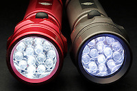 TWO LED FLASHLIGHTS<br />