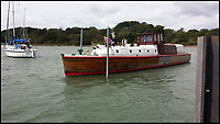 BNPS.co.uk (01202 558833)<br /> Pic: KevinKilkenny/BNPS<br /> <br /> The 'Count' before her restoration.<br /> <br /> Back from the dead - Count Dracula, the Dunkirk little ship that refuses to die.<br /> <br /> A boat yard owner is helping to restore the German-built 'little ship' which rescued his father and 711 other men from Dunkirk.<br /> <br /> David Wilson is one of the men painstakingly restoring the Count Dracula which carried his father Sergeant William Wilson and his fellow engineers home during Operation Dynamo. <br /> <br /> Sgt Norman was left behind with a group of engineers to blow up a bridge then they made their way along the coast looking for a means to escape.<br /> <br /> They found this boat with the crew washed up on a mud bank and the mechanic with them managed to jury rig the gear box to allow them to set off.<br /> <br /> The 50ft long ship had a remarkable existence even prior to Dunkirk as it was built for the German navy in 1913.
