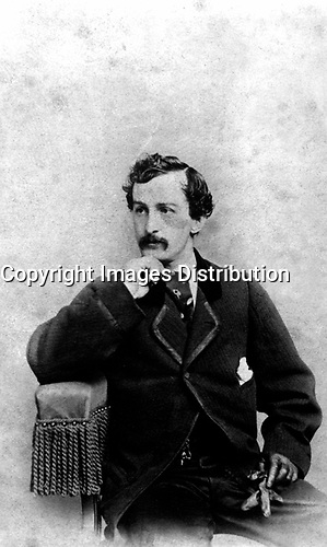 John Wilkes Booth,  ca.  1862.  Charles DeForest Fredericks. (National Archives)<br /> Exact Date Shot Unknown