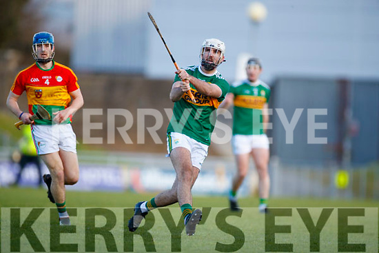 Dáithí Griffin  Kerry in action against  Carlow in Div 2a of the National Hurling League at Austin Stack Park Tralee on Sunday.