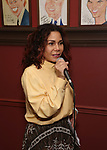 Daphne Rubin-Vega attends the Michael Grief Sardi's Portrait Unveiling at Sardi's on 4/27/2017 in New York City.