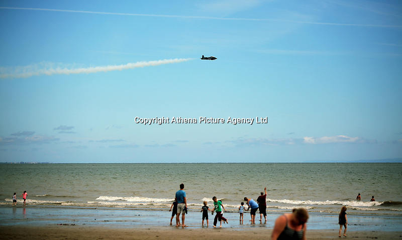 Pictured: One of the aeroplanes of the show. Saturday 01 July 2017<br />