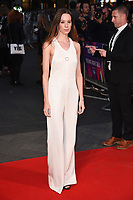 Chloe Pirrie<br /> arriving for the London Film Festival 2017 screening of &quot;Breathe&quot; at the Odeon Leicester Square, London<br /> <br /> <br /> &copy;Ash Knotek  D3318  04/10/2017