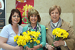 Collette Byrne, Mary Convey and Stephanie Turner on Daffoldil Day...Photo NEWSFILE/Jenny Matthews.(Photo credit should read Jenny Matthews/NEWSFILE)....This Picture has been sent you under the condtions enclosed by:.Newsfile Ltd..The Studio,.Millmount Abbey,.Drogheda,.Co Meath..Ireland..Tel: +353(0)41-9871240.Fax: +353(0)41-9871260.GSM: +353(0)86-2500958.email: pictures@newsfile.ie.www.newsfile.ie.FTP: 193.120.102.198.