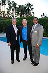 PALM SPRINGS - APR 27: Stuart Berkowitz, Scott Appel, Emmanuel Freeman at a cultivation event for The Actors Fund at a private residence on April 27, 2016 in Palm Springs, California