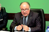Domenico Zambetti, Assessore all'Artigianato e Servizi della Regione Lombardia (Pdl) in consiglio regionale --- Domenico Zambetti, assessor for Crafts and Services in Lombardy Region (PDL - People of Freedoms party), at the regional council