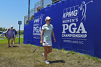 Beatriz Recari (ESP) departs 18 following round 2 of the 2018 KPMG Women's PGA Championship, Kemper Lakes Golf Club, at Kildeer, Illinois, USA. 6/29/2018.<br /> Picture: Golffile | Ken Murray<br /> <br /> All photo usage must carry mandatory copyright credit (&copy; Golffile | Ken Murray)