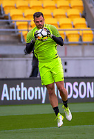 Keeper Stefan Marinovic. All Whites training for 2018 FIFA World Cup Russia qualifier against Peru at Westpac Stadium in Wellington, New Zealand on Friday, 10 November 2017. Photo: Dave Lintott / lintottphoto.co.nz
