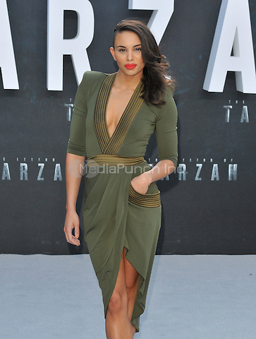 Louise Hazel at the &quot;The Legend of Tarzan&quot; European film premiere, Odeon Leicester Square, Leicester Square, London, England, UK, on Tuesday 05 July 2016.<br /> CAP/CAN<br /> &copy;Can Nguyen/Capital Pictures /MediaPunch ***NORTH AND SOUTH AMERICAS ONLY***