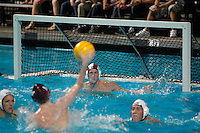 Saturday,November 22 2008.  Bishops High School forward takes a shot on goal.  Bishops of La Jolla defeated Coronado High 4 to 3 for the CIF Division II Boys Water Polo Title.