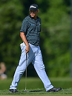 June 29, 2013  (Bethesda, Maryland)  Bill Haas waits for his shot on the 18th hole during Round 3 of the AT&T National at COngressional Country Club in Bethesda, MD.  (Photo by Don Baxter/Media Images International)