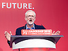 Labour Leadership <br /> Conference <br /> at The QE Conference Centre, Westminster, London, Great Britain <br /> 12th September 2015 <br /> <br /> Jeremy Corbyn <br /> <br /> Labour leader <br /> <br /> Photograph by Elliott Franks <br /> Image licensed to Elliott Franks Photography Services