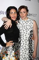 "Jenni Konner, Lena Dunham<br /> at ""Girls"" at PaleyFEST LA 2015, Dolby Theater, Hollywood, CA 03-08-15<br /> David Edwards/DailyCeleb.com 818-249-4998"