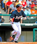 12 March 2009: Atlanta Braves' infielder Omar Infante in action during a Spring Training game against the Washington Nationals at Disney's Wide World of Sports in Orlando, Florida. The Braves defeated the Nationals 6-2 in the Grapefruit League matchup. Mandatory Photo Credit: Ed Wolfstein Photo
