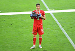 Deutscher Meister 2020, FC Bayern Muenchen, Robert Lewandowski mit Torjaegerkanone vom kicker Magazin<br />Wolfsburg, 27.06.2020: nph00001: , Fussball Bundesliga, VfL Wolfsburg - FC Bayern Muenchen 0:4<br />Foto: Tim Groothuis/Witters/Pool//via nordphoto<br /> DFL REGULATIONS PROHIBIT ANY USE OF PHOTOGRAPHS AS IMAGE SEQUENCES AND OR QUASI VIDEO<br />EDITORIAL USE ONLY<br />NATIONAL AND INTERNATIONAL NEWS AGENCIES OUT