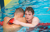 Picture by Allan McKenzie/SWpix.com - 15/12/2017 - Swimming - Swim England Winter Championships - Ponds Forge International Sports Centre, Sheffield, England - Jay Lelliott wins his race in the mens open 1500m freestyle, narrowly missing out on a Commonwealth Games place.