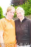Bridget and Eileen Sayers Derrymore West enjoying the Killarney Lions Club mini marathon in Killarney on Sunday.