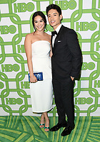 06 January 2019 - Beverly Hills , California - Diane Doan, Manny Jacinto . 2019 HBO Golden Globe Awards After Party held at Circa 55 Restaurant in the Beverly Hilton Hotel. <br /> CAP/ADM/BT<br /> ©BT/ADM/Capital Pictures