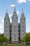 The Salt Lake Temple.