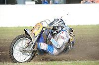 MOTORSPORT: JOURE: 18-05-2014, MC Flying Boetoe, Grasbaanraces Nutsbaan, zijspanraces, ©foto Martin de Jong
