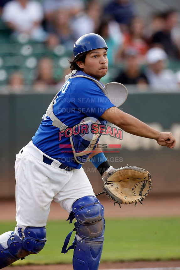 Keyter Collado - Ogden Raptors (2009 Pioneer League) playing against the Missoula Osprey at Lindquist Field, Ogden, UT - 08/22/2009..Photo by:  Bill Mitchell/Four Seam Images..