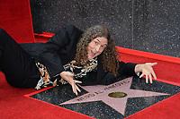 'Weird Al' Yankovic Star Ceremony