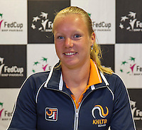 April 15, 2015, Netherlands, Den Bosch, Maaspoort, Fedcup Netherlands-Australia,  Kiki Bertens, (NED)<br /> Photo: Tennisimages/Henk Koster