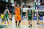 S&ouml;dert&auml;lje 2014-04-26 Basket SM-final S&ouml;dert&auml;lje Kings - Norrk&ouml;ping Dolphins :  <br /> Norrk&ouml;ping Dolphins Pierre Hampton  jublar efter slutsignalen<br /> (Foto: Kenta J&ouml;nsson) Nyckelord:  S&ouml;dert&auml;lje Kings SBBK Norrk&ouml;ping Dolphins SM-final Final T&auml;ljehallen jubel gl&auml;dje lycka glad happy