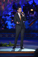 May 25, 2013  (Washington, DC) Chris Mann, former contestant on 'The Voice', performs during the National Memorial Day Concert rehearsal May 25, 2013.   (Photo by Don Baxter/Media Images International)