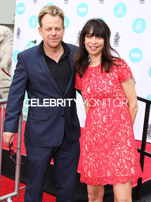 HOLLYWOOD, LOS ANGELES, CA, USA - APRIL 12: Kin Shriner, Illeana Douglas at the Jerry Lewis Hand And Footprint Ceremony during the 2014 TCM Classic Film Festival held at the TCL Chinese Theatre IMAX on April 12, 2014 in Hollywood, Los Angles, California, United States. (Photo by Xavier Collin/Celebrity Monitor)