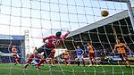 15.12.2019 Motherwell v Rangers: Nikola Katic scores for Rangers past Motherwell keeper Mark Gillespie