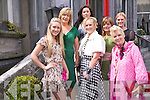 DRESSED UP: Dressed up for a great day out at the 10th Annual Enable Ireland Ladies Luncheon held in Ballyseedy Castle on Friday May 13th were: Kirstin McKenzie Vass, Mandy McKenzie Vass, Marilyn Duffy, Claire Murphy, Karyn Moriarty (Kerry Designer of the Year), Orlagh Winters and Cathriona McEnery..