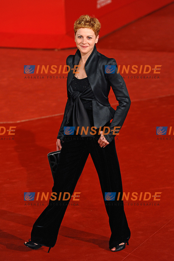 Valeria Milillo<br /> Third edition of the Rome International film festival<br /> Roma 25/10/2008 <br /> Red Carpet  'un Gioco da Ragazze&quot;<br /> Photo Andrea Staccioli Insidefoto