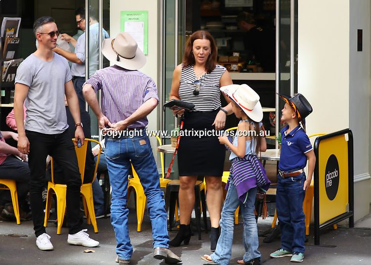 27 MARCH 2017 BRISBANE AUSTRALIA<br /> WWW.MATRIXPICTURES.COM.AU<br /> <br /> EXCLUSIVE PICTURES<br /> <br /> Married At First Sight contestants Anthony Manton catches up with Sean Hollands and his kids in Sydney. <br /> <br /> <br /> Note: All editorial images subject to the following: For editorial use only. Additional clearance required for commercial, wireless, internet or promotional use.Images may not be altered or modified. Matrix Media Group makes no representations or warranties regarding names, trademarks or logos appearing in the images.