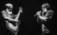 LAS VEGAS, NV - December 30, 2018: ***HOUSE COVERAGE*** Kyle Gass and Jack Black  pictured as Tenacious D performs at The Joint at Hard Rock Hotel &amp; Casino in Las Vegas, NV on December 30, 2018. <br /> CAP/MPI/EKP<br /> &copy;EKP/MPI/Capital Pictures
