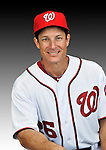 25 February 2011: Jeff Garber, Spring Training Instructor for the Washington Nationals, poses for his Photo Day portrait at Space Coast Stadium in Viera, Florida. Mandatory Credit: Ed Wolfstein Photo