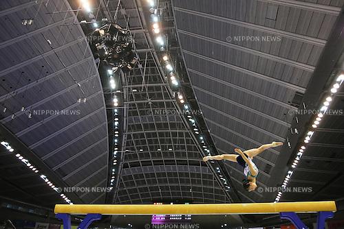 Asuka Teramoto (JPN), <br /> June 30, 2013 - Artistic Gymnastics : <br /> The 67th All Japan Artistic Gymnastics Apparatus Championship, Women's Balance Beam Final <br /> at Tokyo Metropolitan Gymnasium, Tokyo, Japan. <br /> (Photo by Daiju Kitamura/AFLO SPORT)