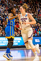3/25/17 NCAA, Bridgeport, Ct. UCONN lady huskies win their 110 straight game downing UCLA 86-71 as Samuelson [#22]scores two her 15.  The elite eight is Monday night.