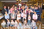 Sandra and Sean Brosnan celebrate the christening of their son Sean Joesph with their family and friends in Sheahan's bar Firies on Sunday