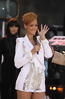 Rihanna on Good Morning America 2009<br /> Photo By John Barrett/CelebrityArchaeology.com