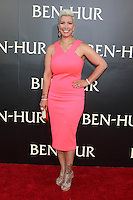 "HOLLYWOOD, CA - AUGUST 16: Rebecca Crews at the LA Premiere of the Paramount Pictures and Metro-Goldwyn-Mayer Pictures title ""Ben-Hur"", at the TCL Chinese Theatre IMAX on August 16, 2016 in Hollywood, California. Credit: David Edwards/MediaPunch"