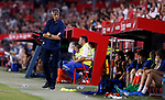 Real Sociedad's coach Imanol Alguacil during La Liga match. Sep 29, 2019. (ALTERPHOTOS/Manu R.B.)
