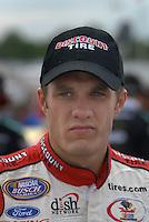 May 4, 2007; Richmond, VA, USA; Nascar Busch Series driver David Ragan (6) during qualifying for the Circuit City 250 at Richmond International Raceway. Mandatory Credit: Mark J. Rebilas