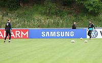 Torwart Manuel Neuer (Deutschland Germany)trainiert mit Torwart Sven Ulreich (Deutschland Germany) - 04.06.2019: Training der Deutschen Nationalmannschaft zur EM-Qualifikation in Venlo/NL